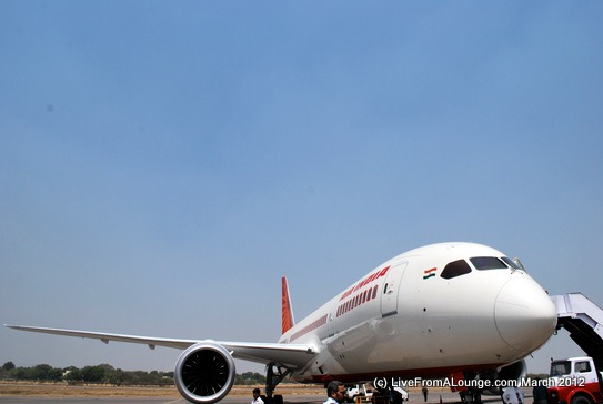 Air India's Boeing 787-8 Dreamliner