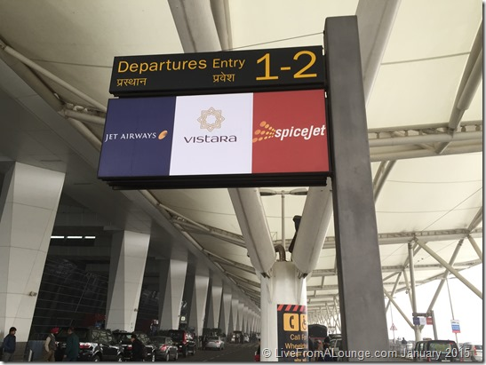 Delhi Terminal 3 gets new signage for Vistara