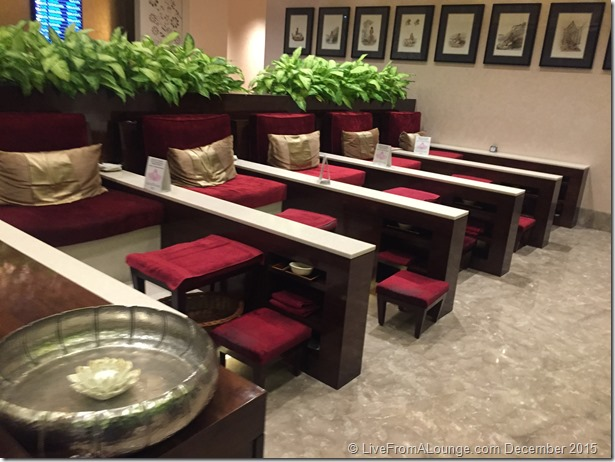 Spa Area, GVK Lounge, First Section