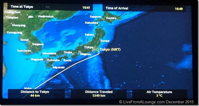 SQ Suites: Flight map