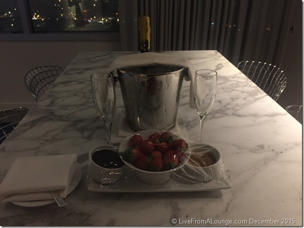 Andaz West Hollywood Penthouse Suite Welcome Amenity