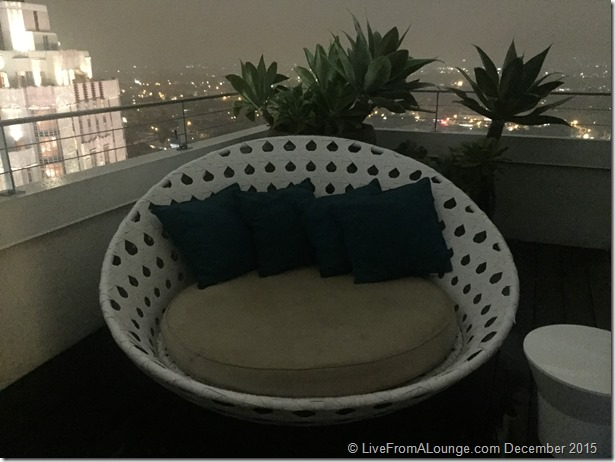 Andaz West Hollywood Penthouse Suite Lounger