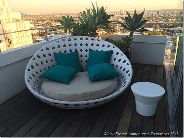 Andaz West Hollywood Penthouse Suite Terrace