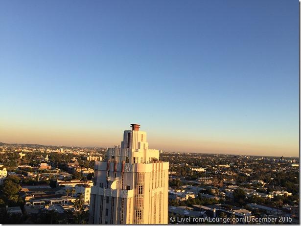 Andaz West Hollywood Penthouse Suite Terrace Views
