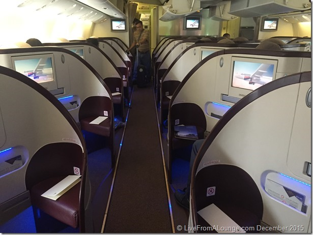 Etihad Business Class on Jet Airways Boeing 777ER
