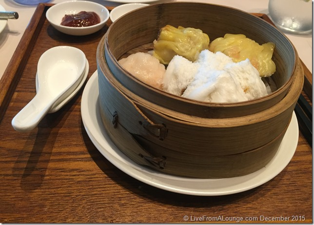 Dim Sum Platter Served at The Private Room