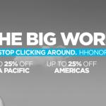 Hilton Big World Sale