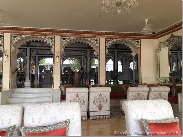 The Lobby at Taj Lake Palace