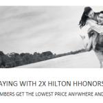 Hilton 2X promo