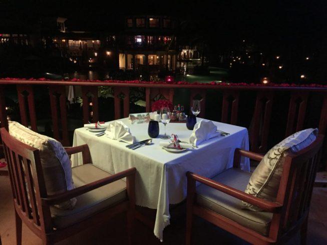 Private Dining at the Park Hyatt Goa!!