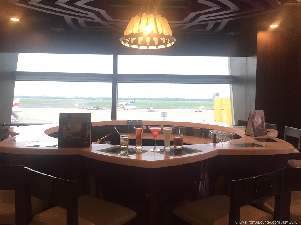 Vistara Lounge at Terminal 3, Delhi IGIA