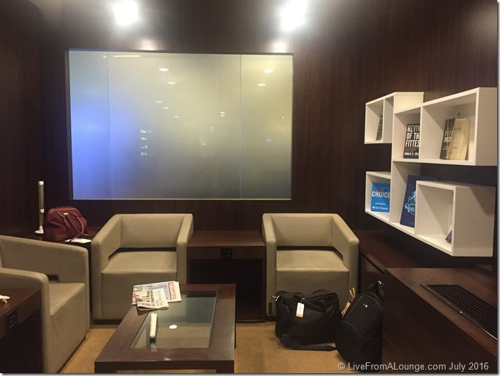 Reading Room at Vistara Lounge