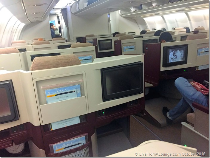 Jet Airways' A330-300 Business Class Cabin