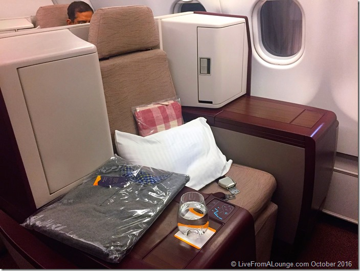 Jet Airways' Vantage Business Class Seat