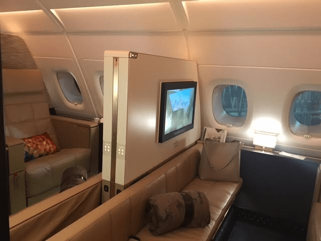 Etihad First Apartments on A380