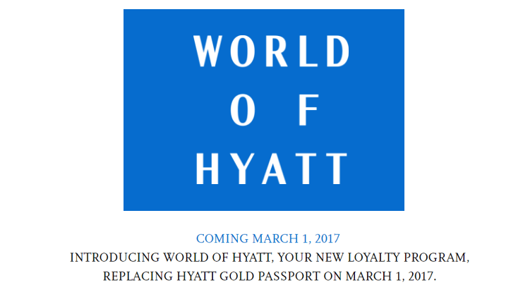 Hyatt Changes