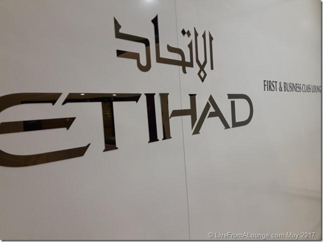 Etihad First & Business Class Lounge Paris