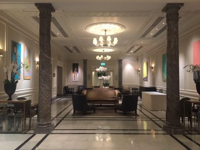 Hyatt Regency London: The Lobby