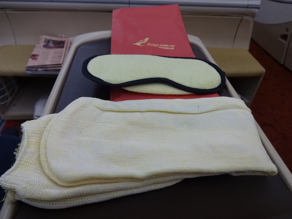 Air India 787-8 Business Class Amenity Kit