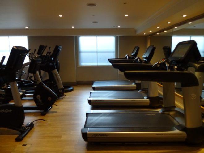 Hyatt Regency London - Churchill: The Gym located on the second floor