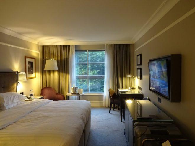 View of our room at Hyatt Regency London - Churchill