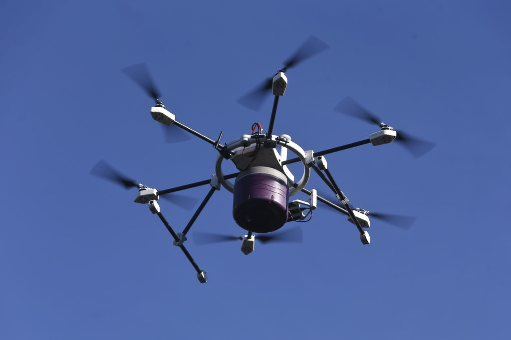 A drone at work (Image via Wikipedia)