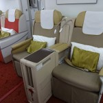 Air India Boeing 787-8 Business Class Cabin