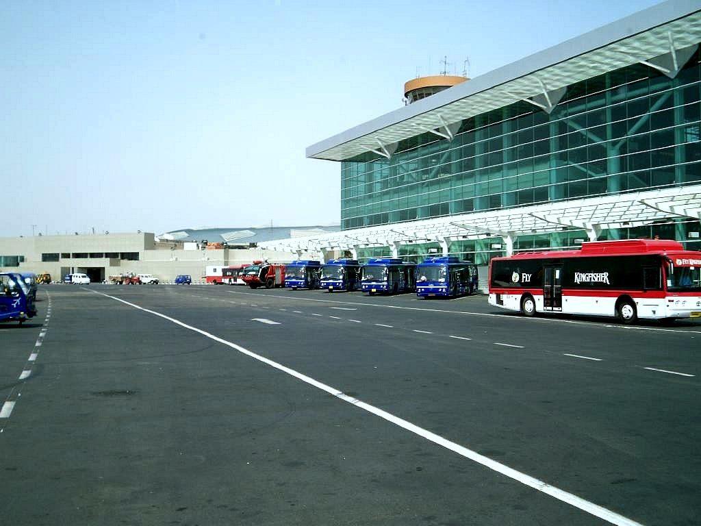 Delhi Airport Terminal 1 Apron