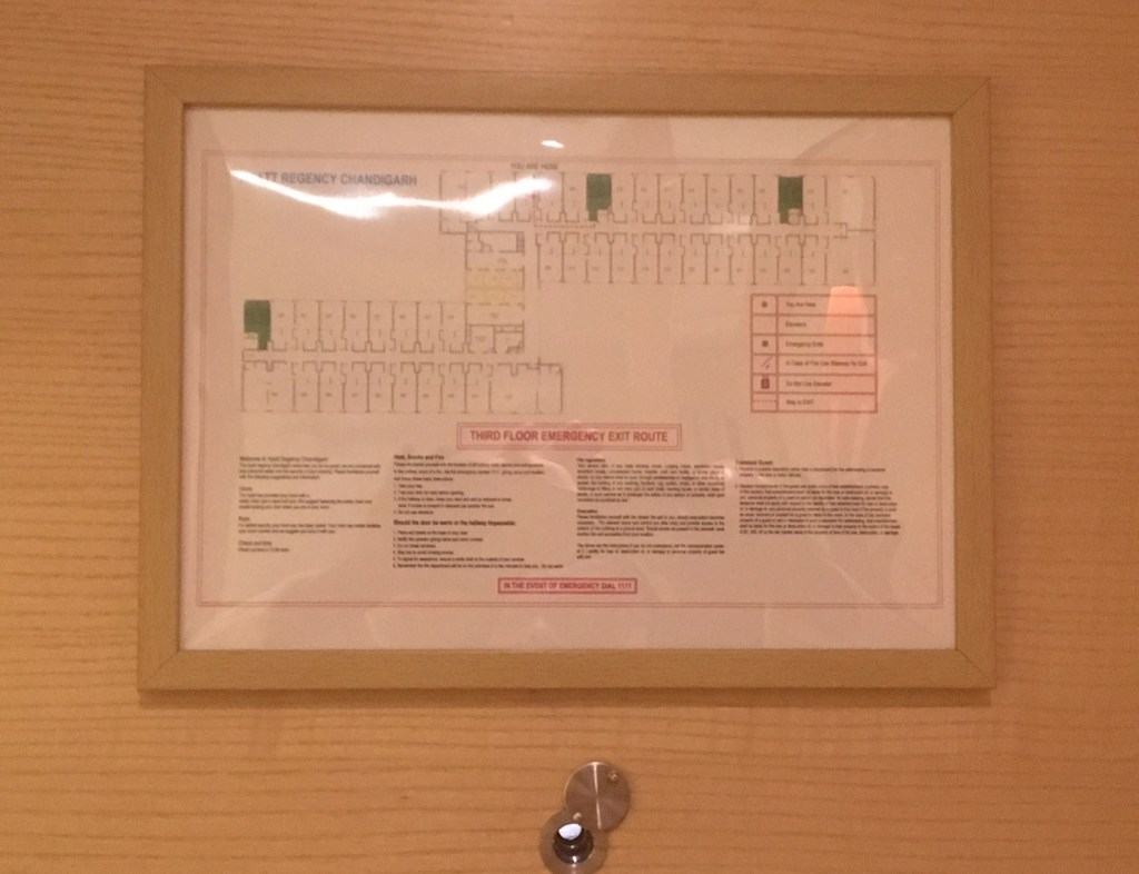 Hyatt Regency Chandigarh Evacuation Plan