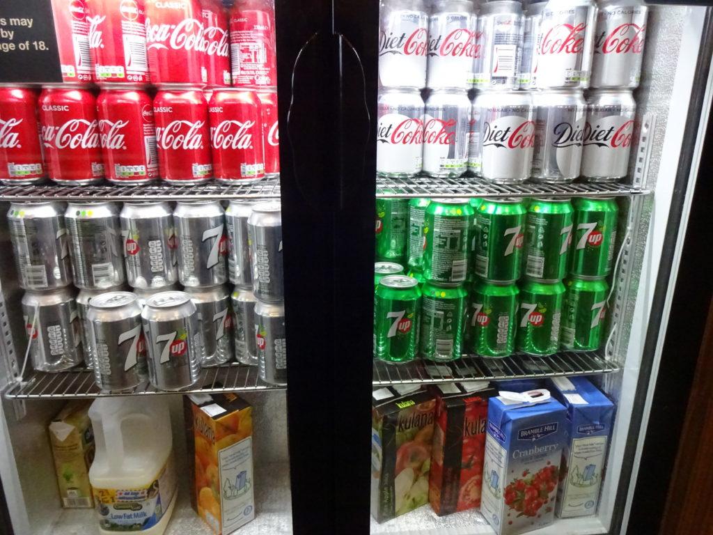 DAA Executive Lounge beverages