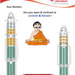 Air India Upgrade mailer
