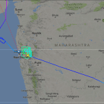 AC46 diverted to Hyderabad