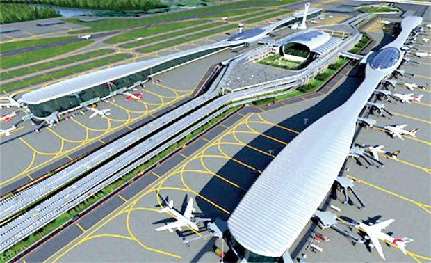 Navi Mumbai Airport Render