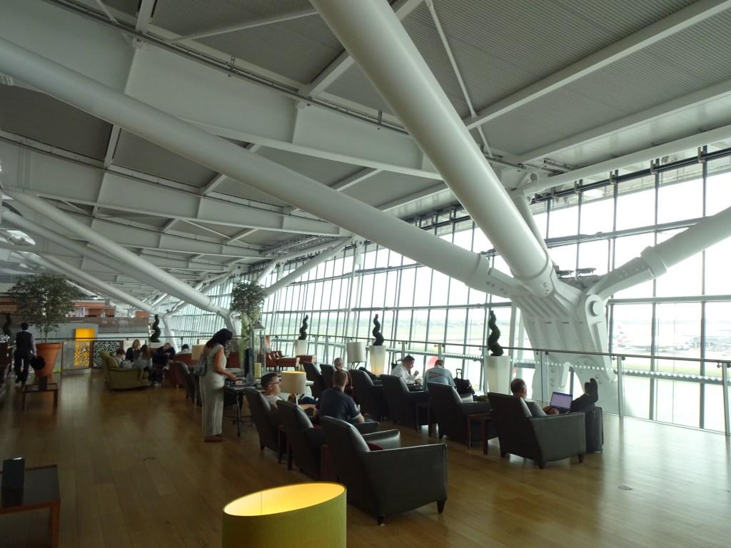 British Airways Concorde Room London Seating