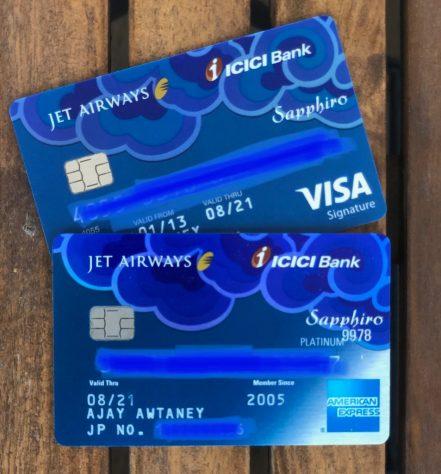 Jet Airways ICICI Credit Card