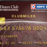 HDFC Bank Diners Club ClubMiles Card