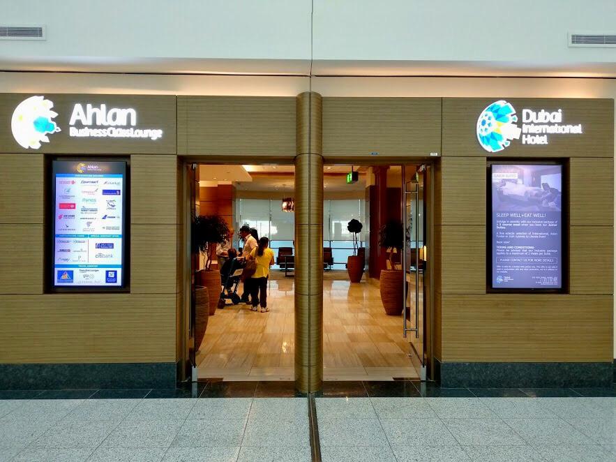 Ahlan Business Class Lounge, Dubai Airport Lounge