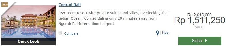 Conrad Bali Hilton Hotel