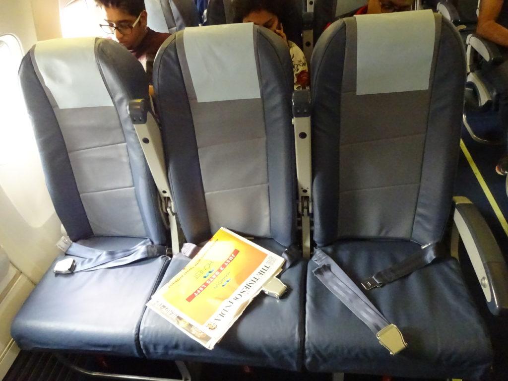 Review Jet Airways to Dubai