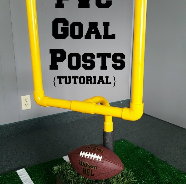 How to make PVC Football Goalposts