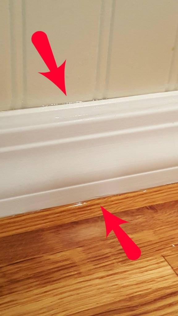 clear silicone caulk debacle
