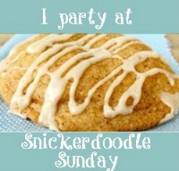 Snickerdoodle Sundays Blog Party