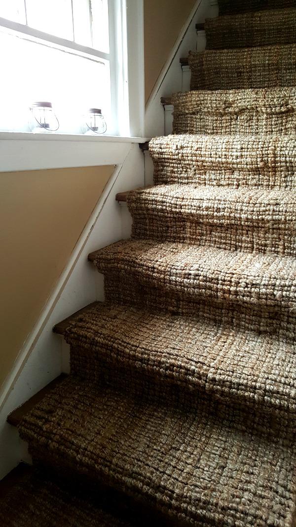 jute stairway runner