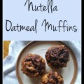 Banana Nutella Oatmeal Muffin Recipe