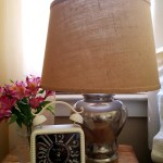 faux mercury glass lamp tutorial 5