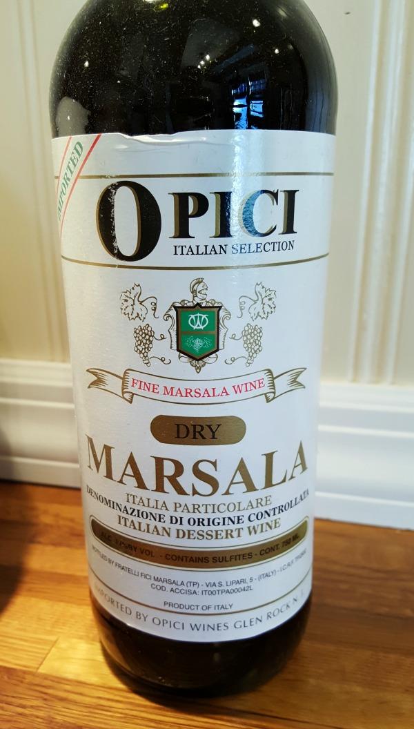 dry Marsala wine
