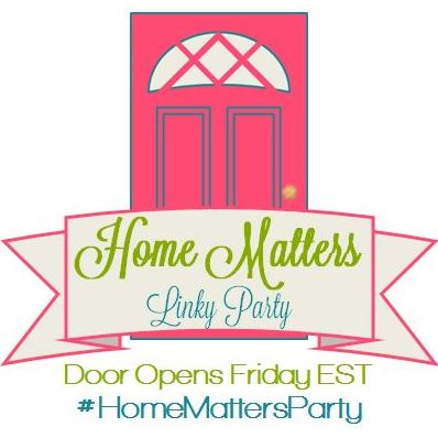Home Matters Linky Party #89