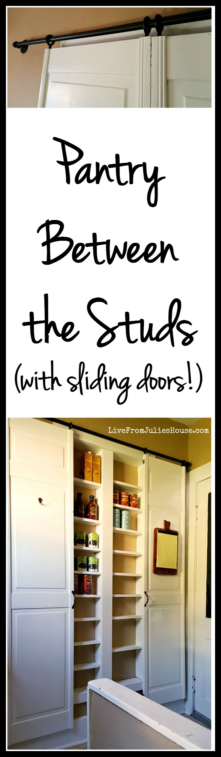 Pantry Between the Studs - Live from Julie\'s House