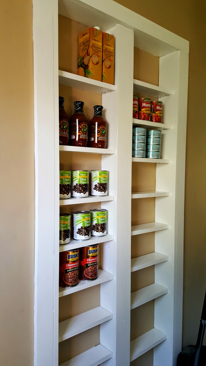 Pantry Between The Studs