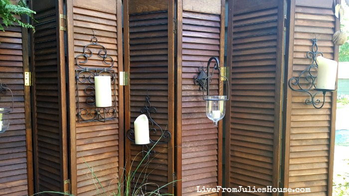 boho style decorative screen find out how i added boho style to my deck by - Decorative Screen